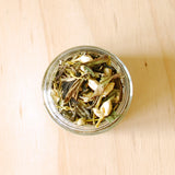 Organic White Tea with Jasmine and Lemongrass Herbal Tea Blend