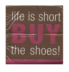 Life is Short Party Napkins