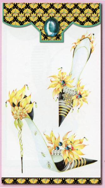Head Over Heels Yellow Flower Stiletto Notable
