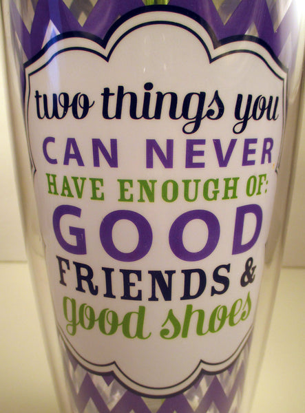 Two Things Acrylic Tumbler
