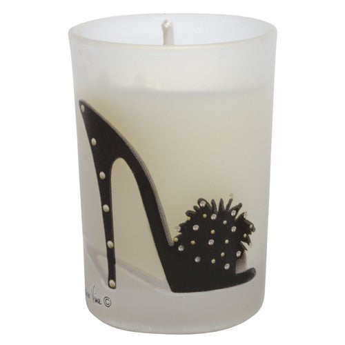 Black Rhinestones Stiletto Mini Votive