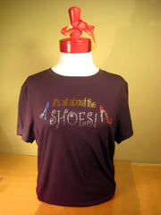 About the Shoes Tee-Shirt. T-Shirt gifts for shoe lovers.