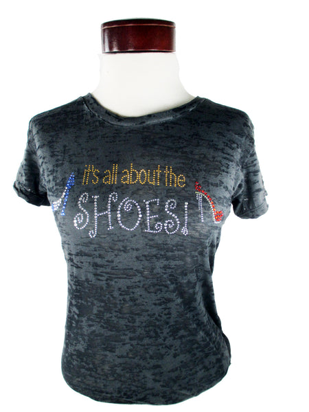 All About the Shoes T-Shirt Burn Out