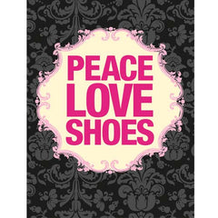 iPhone Skins with peace, love, and shoes. Gifts for shoe lovers from shoewares.com