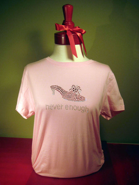 Stiletto Shoes Tee Shirt. T-shirt gifts for shoe lovers.