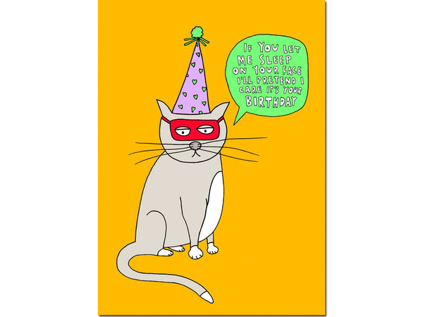 PARTY CAT CARD