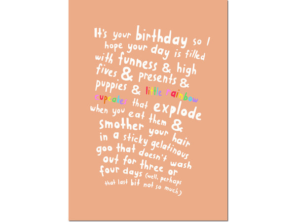 BIRTHDAY DAY CARD