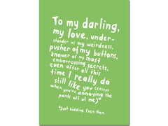MY DARLING CARD