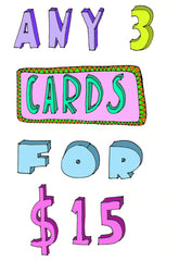 greeting card special pack deal