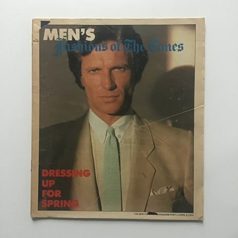 Men's Fashions of The Times April 8, 1979