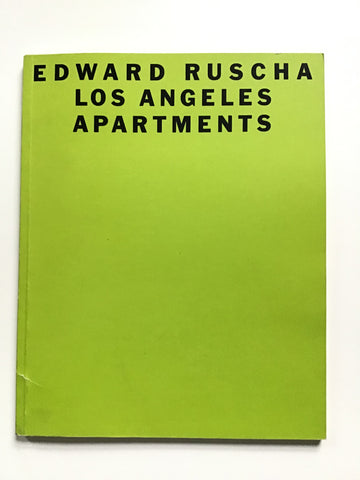Ed Ruscha Los Angeles Apartments