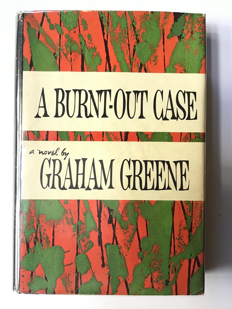 A Burnt-Out Case by Graham Greene Bill English dust jacket