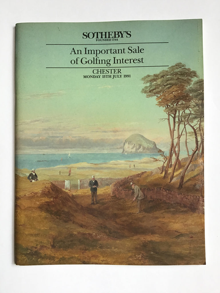 An Important Sale of Golfing Interest