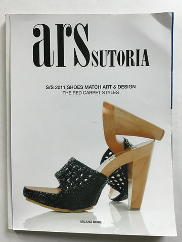 Ars Sutoria s/s 2011 Shoes Match Art & Design