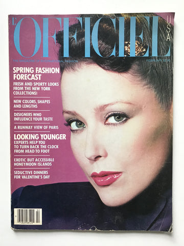 L'Officiel USA February 1980 r Michaele Vollbracht. I