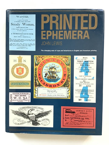 Printed Ephemera