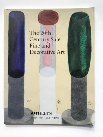 The 20th Century Sale Fine and Decorative Art 7158