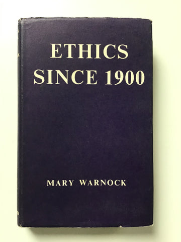 ethics since 1900