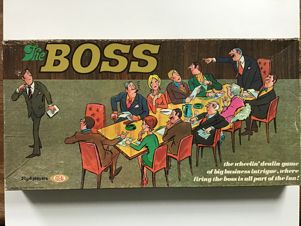 'The Boss' boardgame 1972