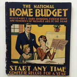 The National Home Budget 1932