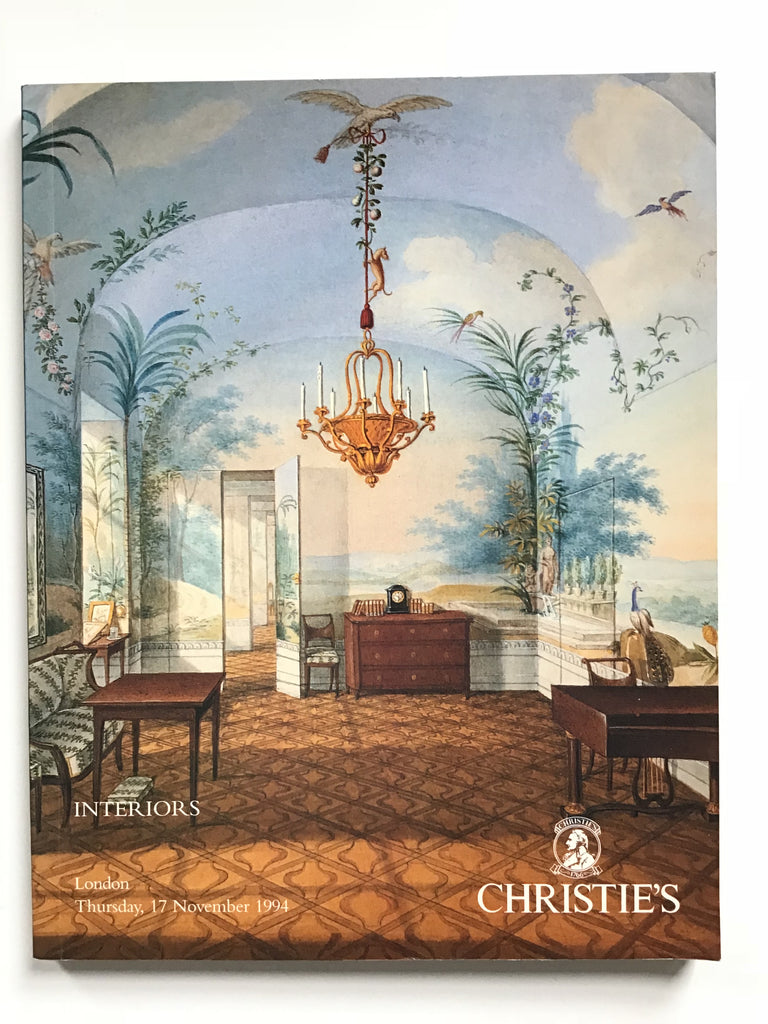 Interiors [sale of paintings of interiors]