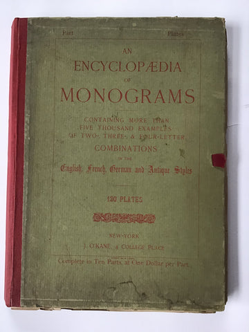 An Encyclopaedia of Monograms