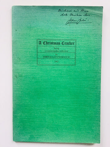 A Christmas Cracker 1987 signed