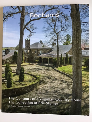 The Contents of a Virginia Country House : The Collection of Eric Steiner sale 25798