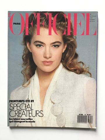 L'Officiel Paris Fevrier 1989