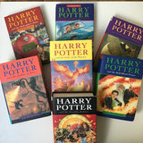 Complete set of the Harry Potter books