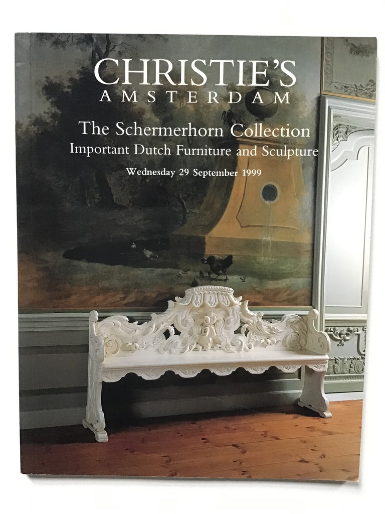 The Schermerhorn Collection Important Dutch Furniture and Sculpture