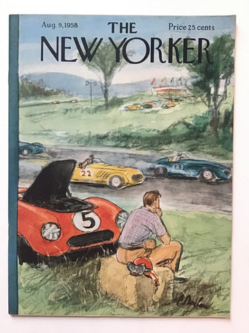 The New Yorker August 9, 1958 --Sylvia Plath poem