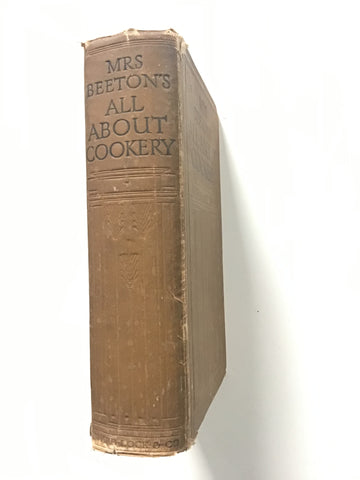 Mrs Beeton's All-About Cookery