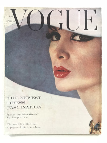 Vogue April 15, 1961 Harper Lee