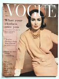 Vogue February 15th, 1961 William Klein cover