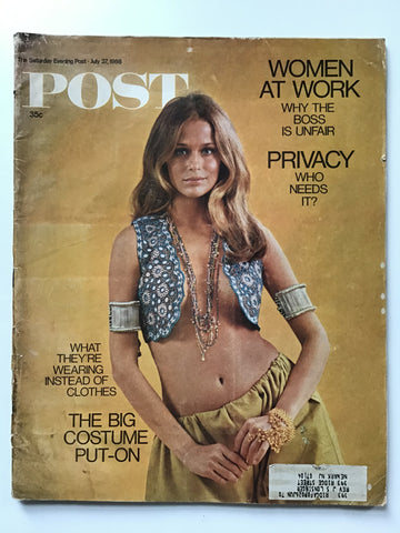 The Saturday Evening Post July 27, 1968