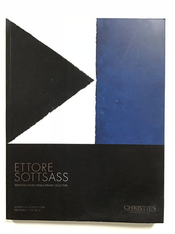Ettore Sottsass Important Works From a Private Collection