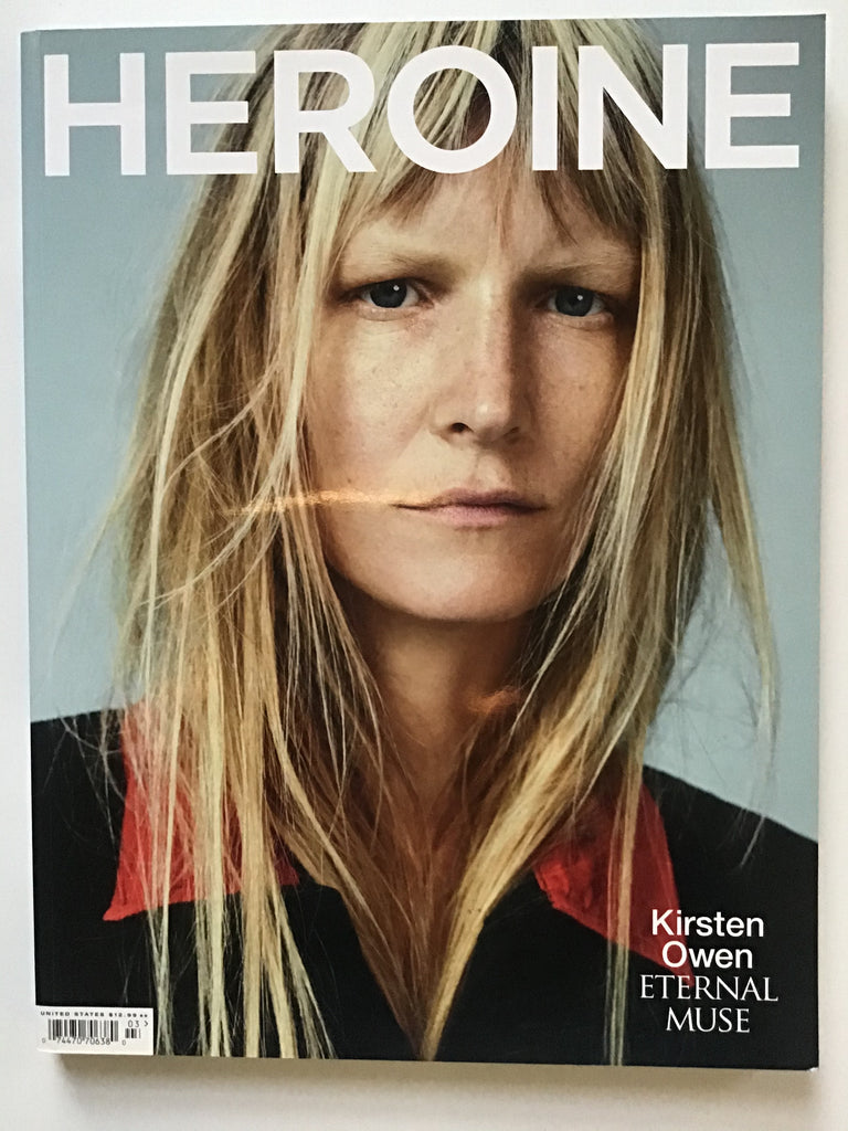 Heroine magazine Fall/Winter 2015 Kirsten Owen