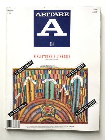 Abitare #312 Novembre 1992 Libraries and bookshops