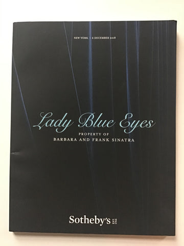 Lady Blue Eyes - Property of Barbara and Frank Sinatra