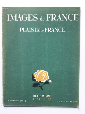 392. Plaisir de France Decembre 1939 –Images de France