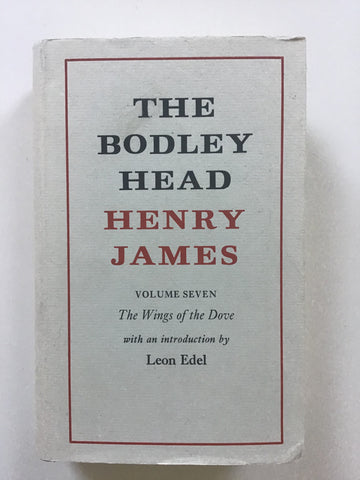 The Bodley Head Henry James  Introducrion by Leon Edel.  London: Bodley Head, 1976. Hardcover in attractive jacket. Light wear only.