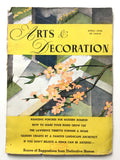 Arts & Decoration April 1936
