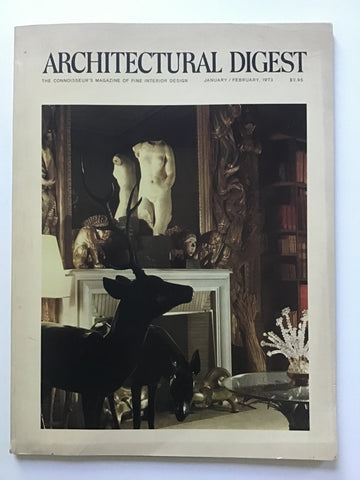 Architectural Digest January / February 1973 chanel