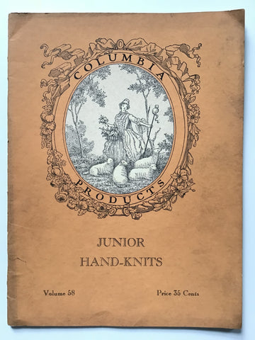 Columbia Book of Junior Hand Knits 1934