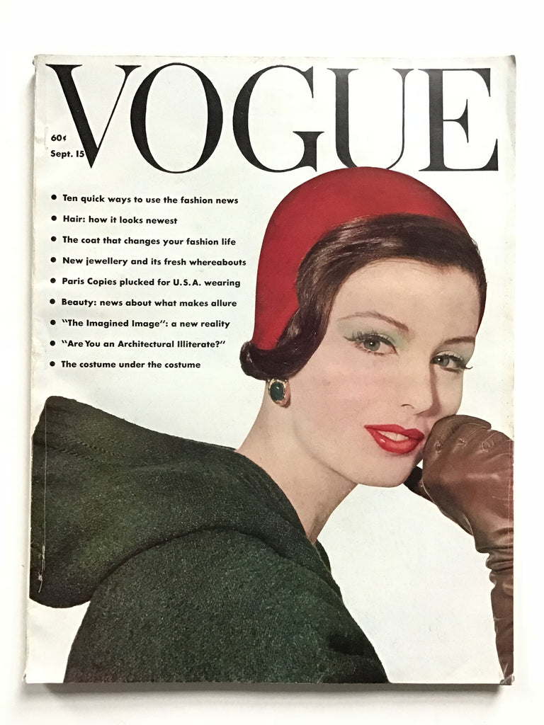 Vogue magazine September 15, 1961