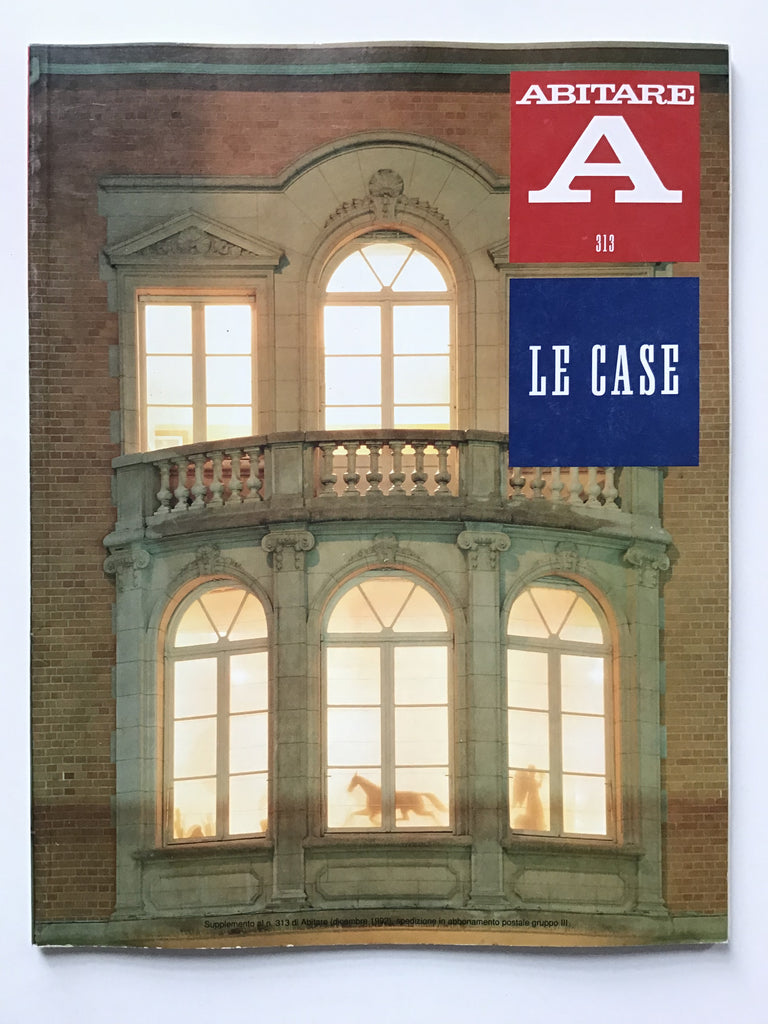 Abitare #313 supplement Le Case