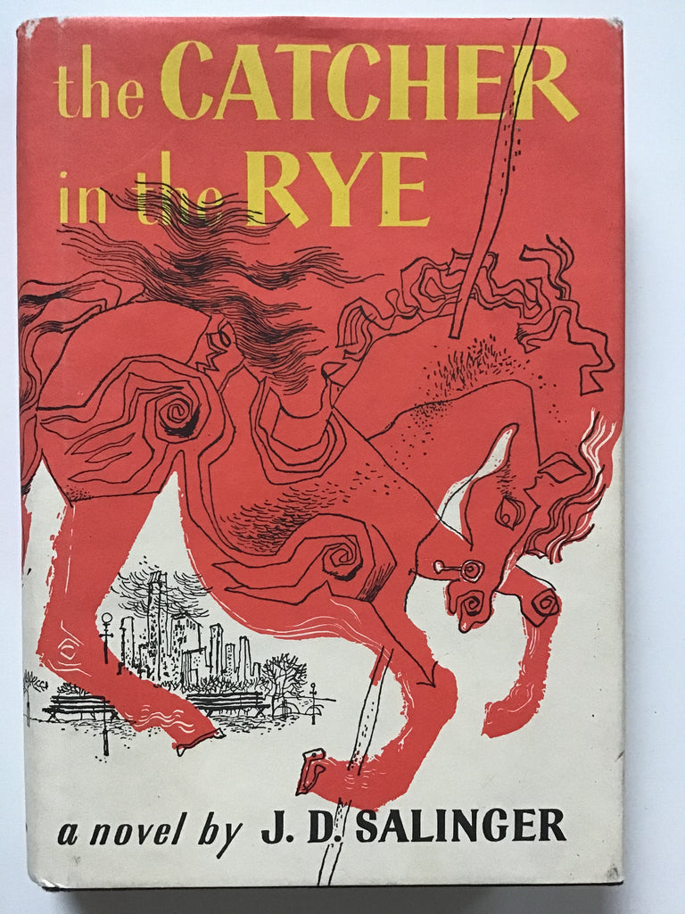 The Catcher in the Rye by J. D.Salinger hardcover with dust jacket