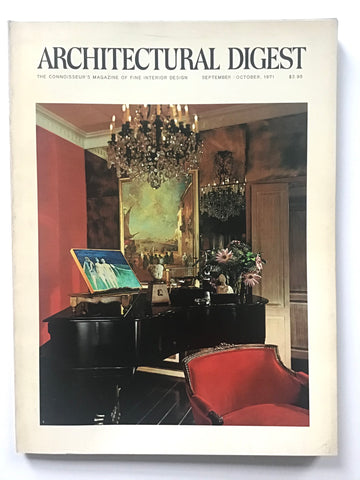 Architectural Digest September/ October 1971