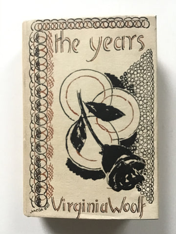 The Years by Virginia Woolf first edition hogarth press